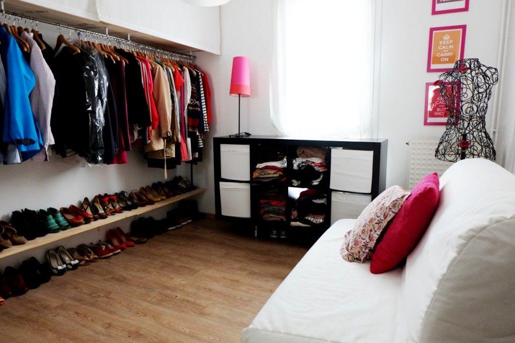 Tuto Diy Fabriquer Un Dressing A Moins De 70 Fabriquer Dressing Idee Dressing Deco Dressing