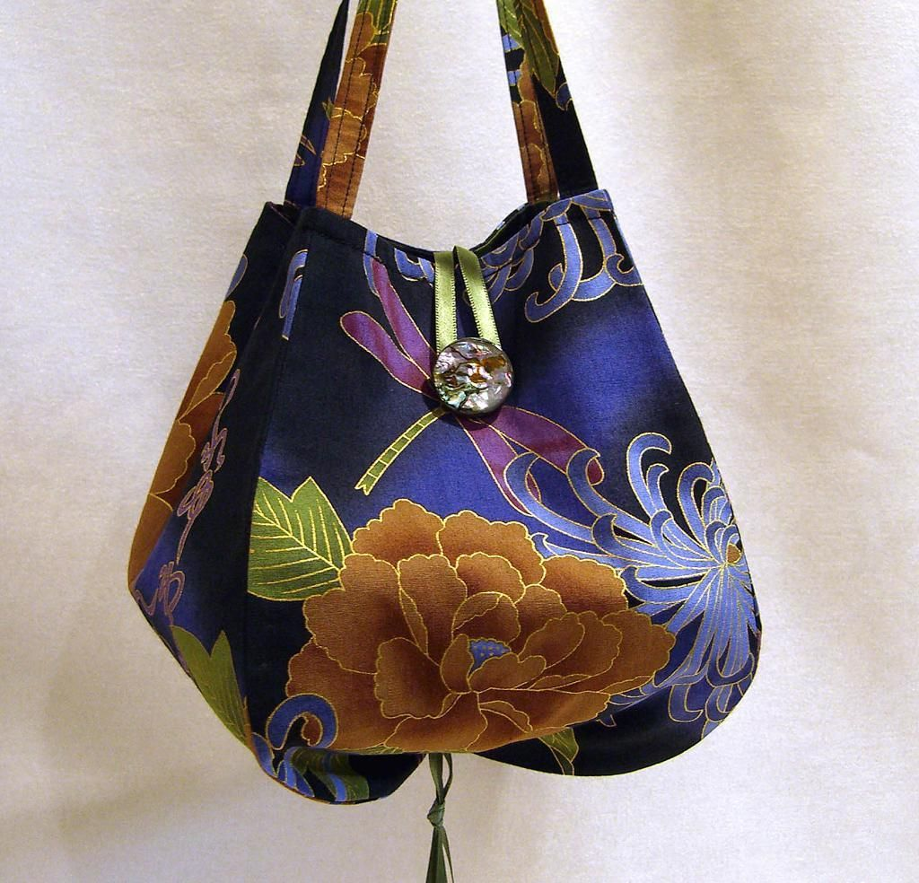 Noriko Handbag Patternspurse Patterns Freetote