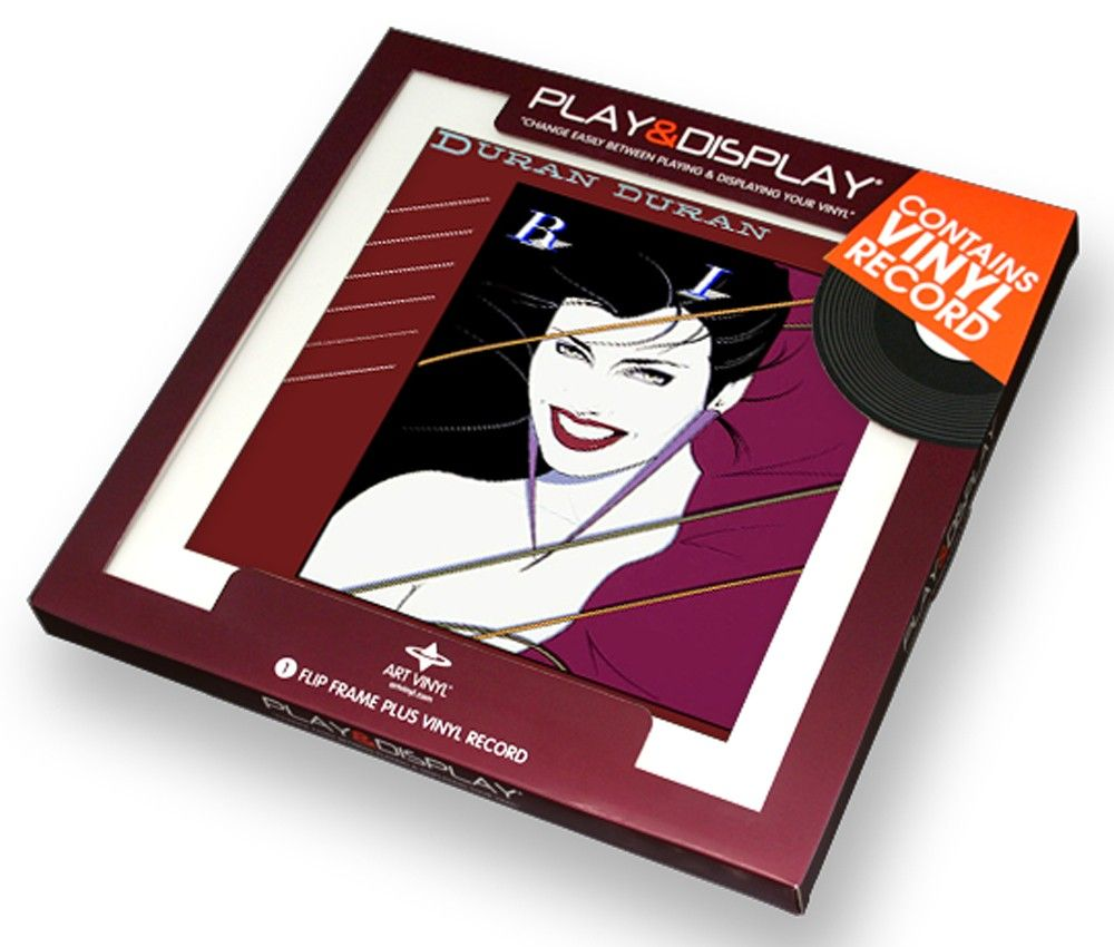 Duran Duran - Rio - Art Vinyl Play and Display Gift Pack with White ...
