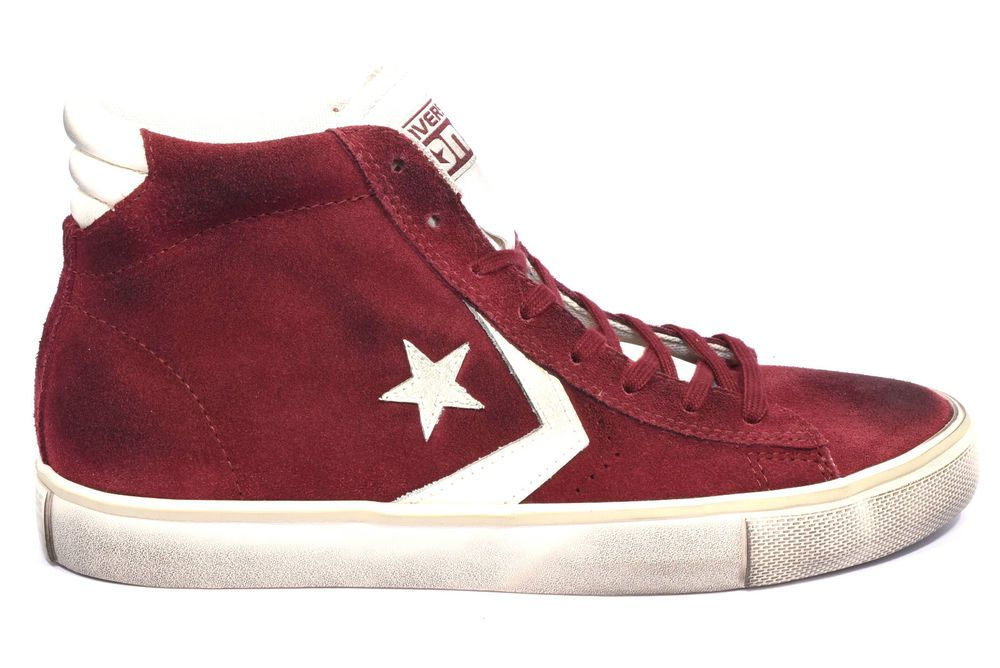 CONVERSE 150628C PRO LEATHER MAROON TURTL Sneakers Alta
