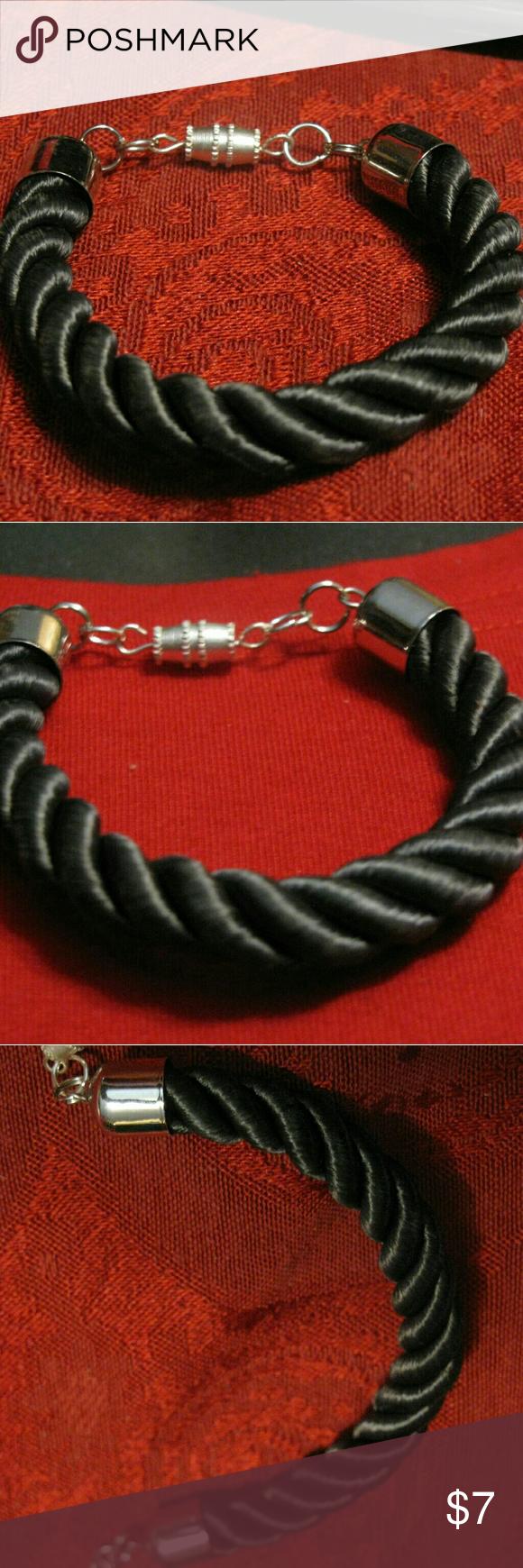 Satin twist rope bracelet 6in rope Jewelry Bracelets