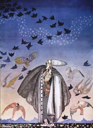 East-of-the-Sun-West-of-the-Moon-Kay-Nielsen-circa-1914-Art-Nouveau
