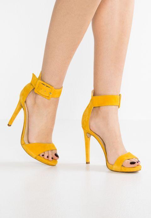MAI PIÙ SENZA High heels - yellow dgRRZ