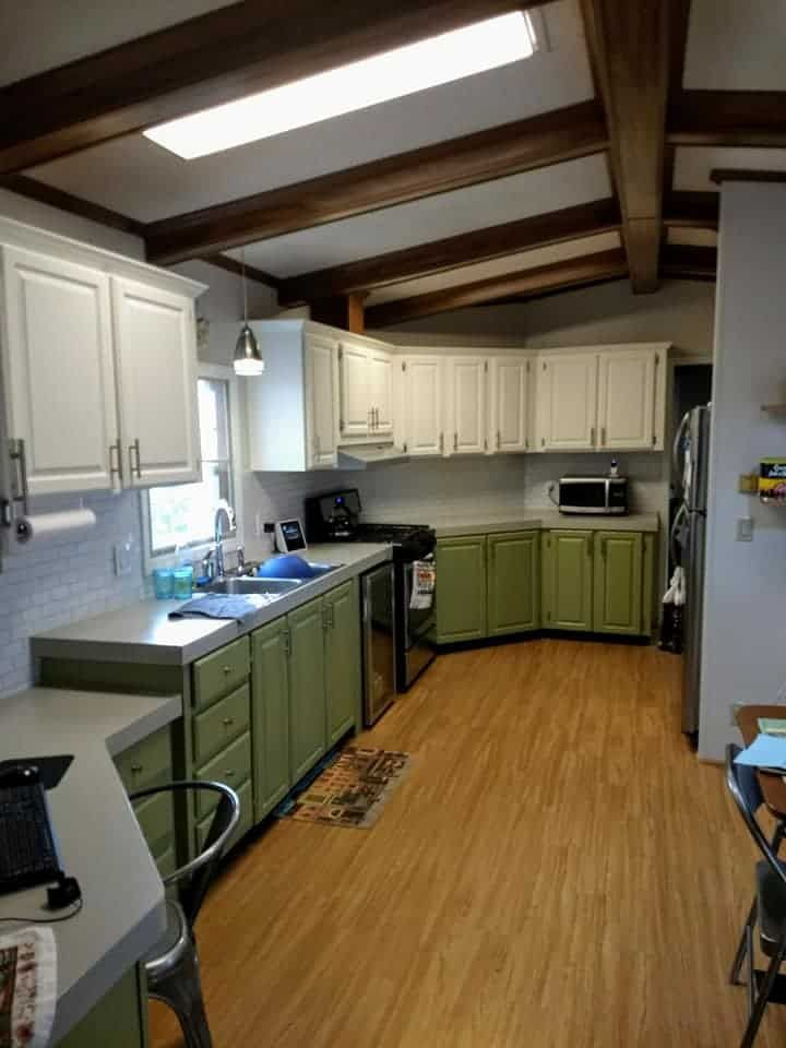 30 beautiful mobile home kitchen colors