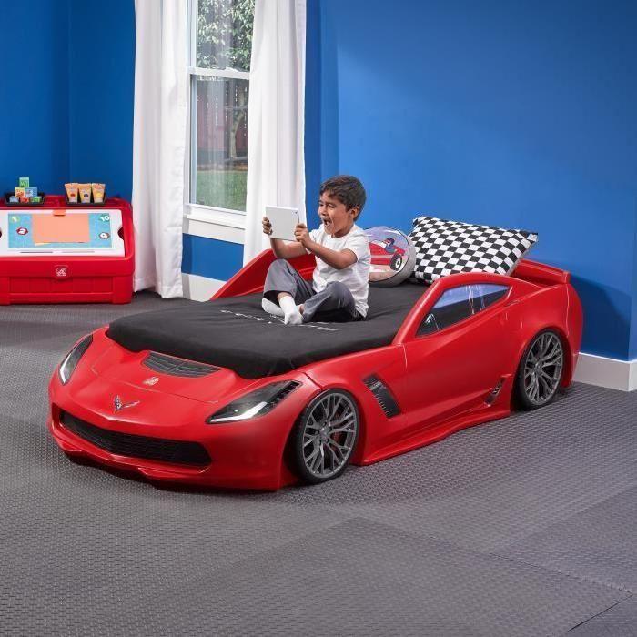 Lit voiture de course | Lit enfant | Pinterest | Lit voiture ...