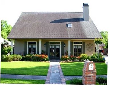 Landscape Acadian Style Home Acadian Style Homes Cottage Style Acadian Homes
