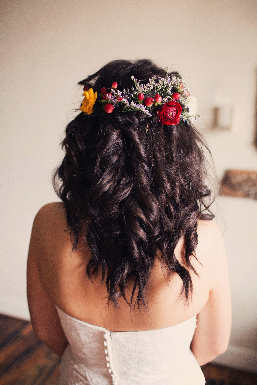 We This Moncheribridals Weddinghair Weddingfloralcrown I