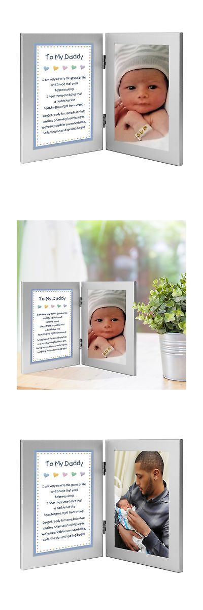 Baby Picture Frames 117392 Newborn Boy To Daddy Gift When He Is Born Or For Dad S Birthday Valen It Now Only 36 59 On Ebay