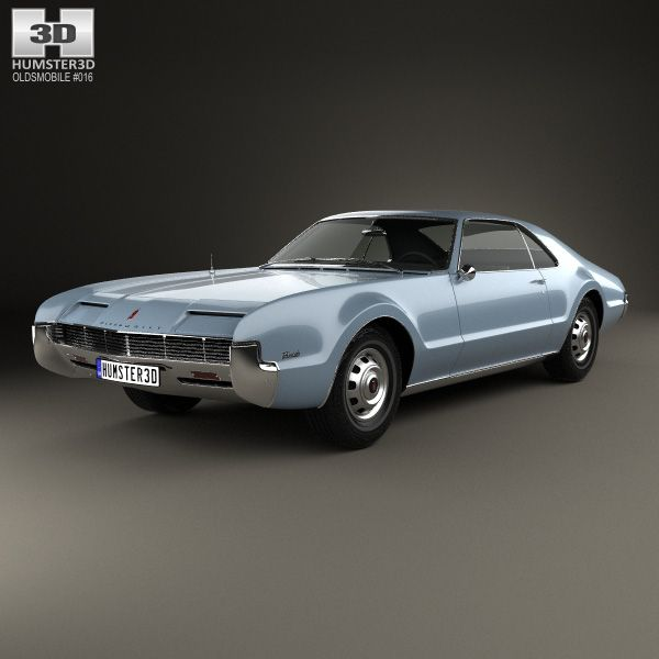 Oldsmobile Toronado 1966 3d model from Humster3D com  | Cars