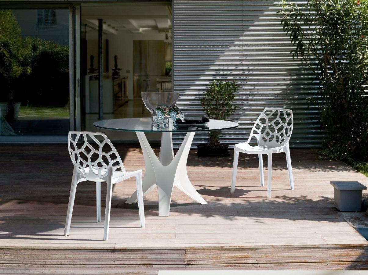 Sedia in policarbonato spider bontempi casa portas e janelas de