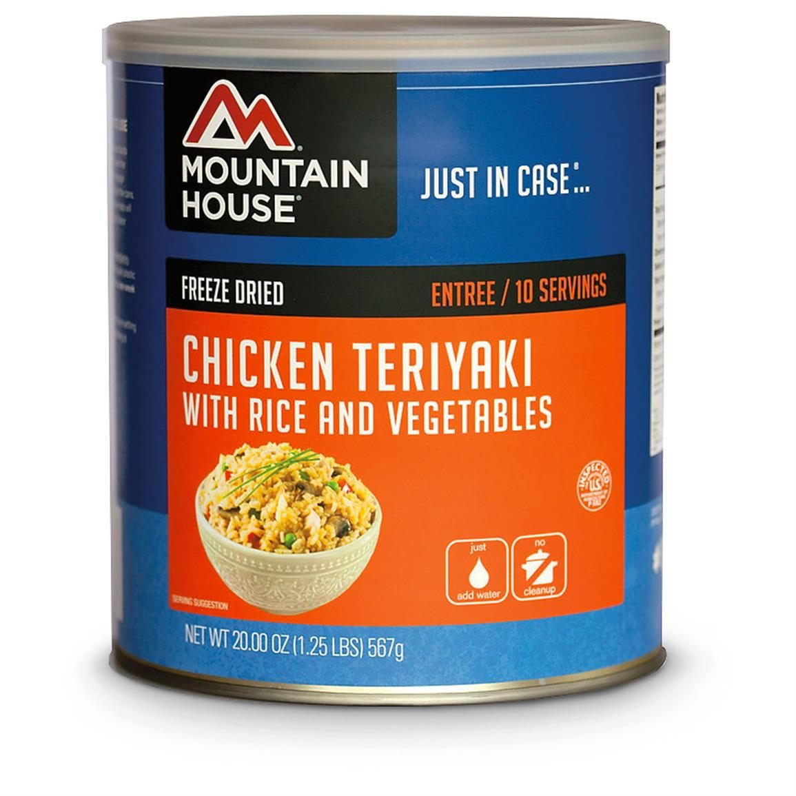 Mountain House Emergency Food Freeze-Dried Chicken ...