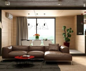 This Stylish Living Room Is Made Up Of Two Partsthe Living Space Alluring Living Room Corner Furniture Designs 2018