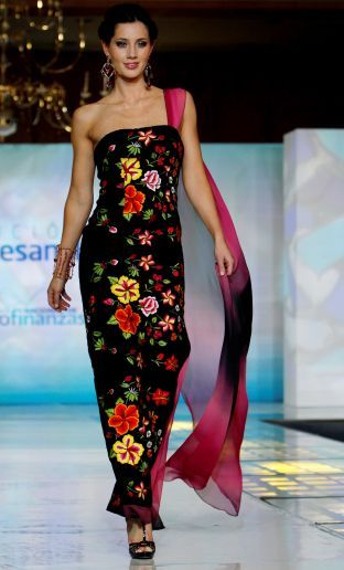 Indigenous Fashion Hits Runways Mexican Dressesmexican