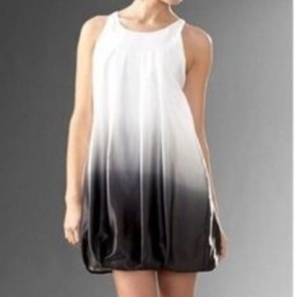 White House Black Market Ombré Dress Size 0 Silk Bubble Lined Perfect For A Semi Formal To