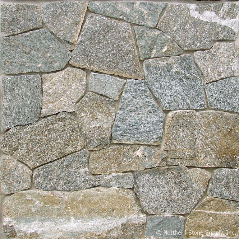 Thin Brick Veneer Stone Natural Thin Stone: Rocky Mountain Granite™ E-Z Set™ Mosaic Veneer