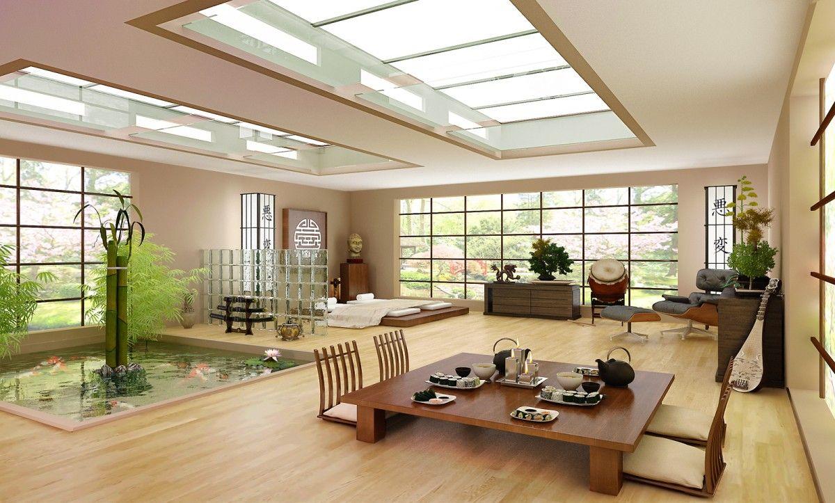 Home interior design living room home modern japanese interior design architecture common  japanese