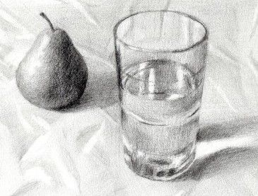 Robin Kappy:   pencil drawing glass   Pinterest   Robins, Sketches ...