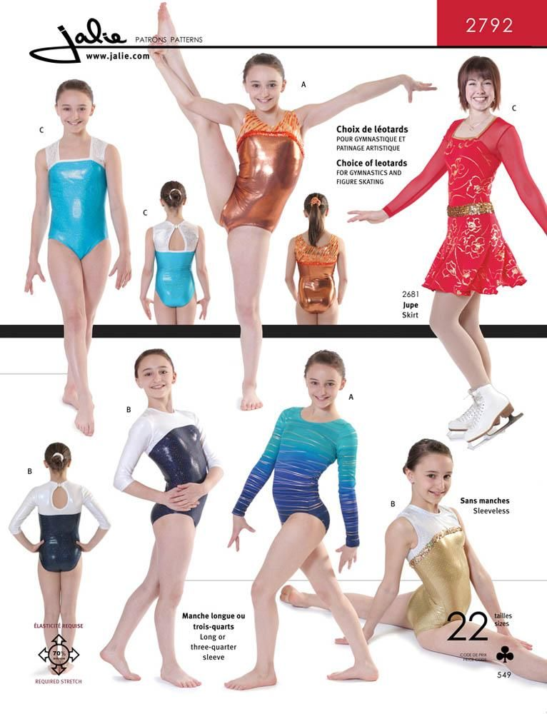aed7062c50ec Gymnastics Leotards Pattern Cover