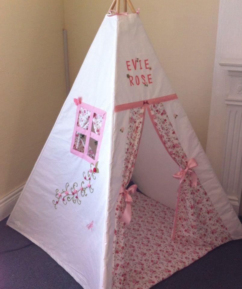 Love my teepee uku0027s leading handmade bespoke and personalised childrens teepee tents. Toys cushions play mats for boys and girls. & Shabby Chic Teepee Blush Pink Rose   Peekaboo Teepees 0 - 12 ...