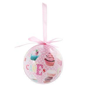 Boule cupcakes - Déco Noël Glacier - Maisons du Monde