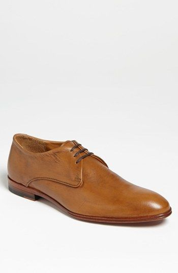 dd3a0de99a19 $198, Tan Leather Derby Shoes: Maison Forte Still Water Derby. Sold by  Nordstrom