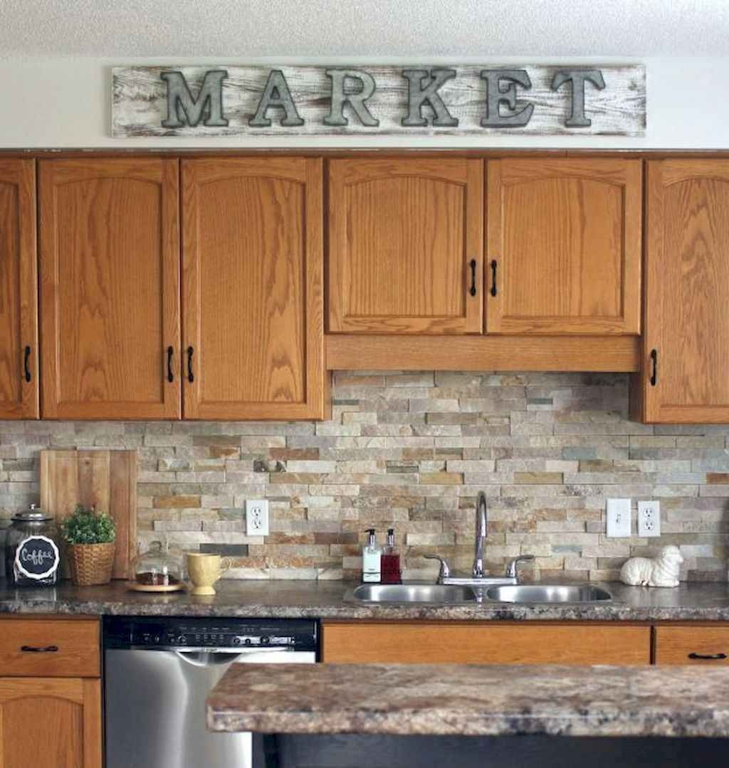 100 Supreme Oak Kitchen Cabinets Ideas Decoration For Farmhouse Style In 2020 Kitchen Design Oak Kitchen New Kitchen Cabinets