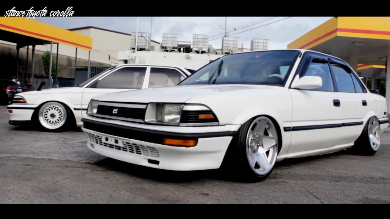 7 Reasons Why People Love Stance Toyota Corolla Di 2020