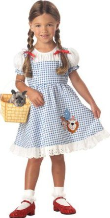 Toddler Dorothy Wizard of Oz Halloween Costume 4T.   Screw This ...