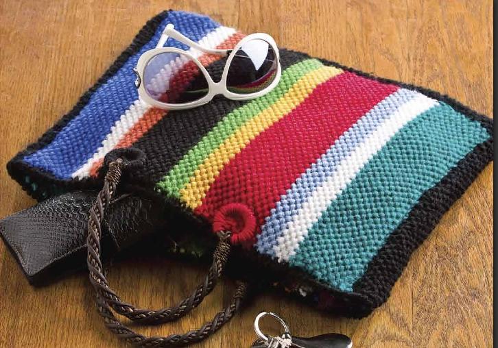 Free Knitting Pattern - Bags, Purses & Totes: Cinco de ...