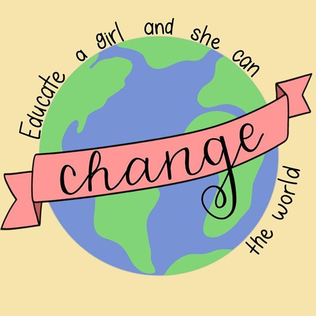 educate a girl and she can change the world, empowering