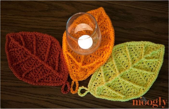 Happy Autumn Leaves Free Crochet Pattern On Mooglyblog These