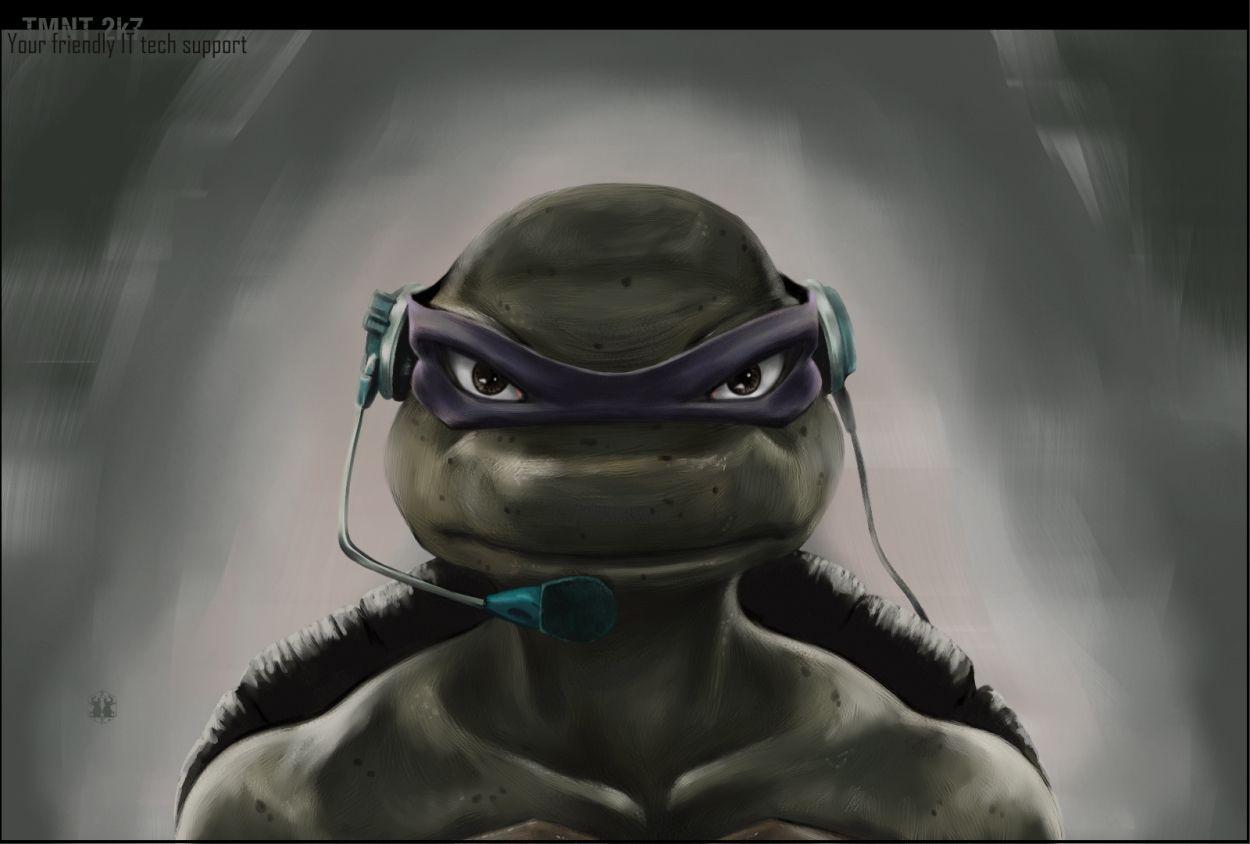 Tmnt 2007 Donatello Your Friendly It Tech Support