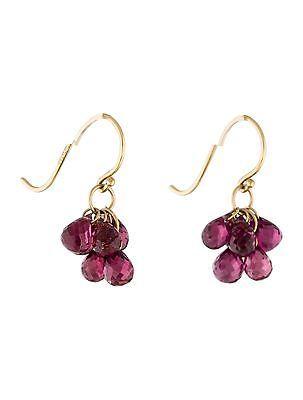 Tiffany-amp-Co-18K-Garnet-Cluster-Earrings