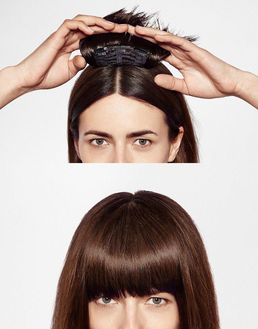 Hershesons Clip In Fringe Clip in fringe, Human hair