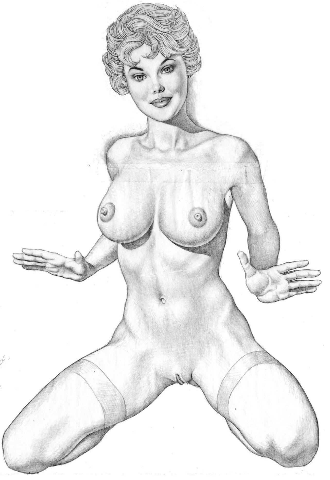 как рисовать голых женщин - 1