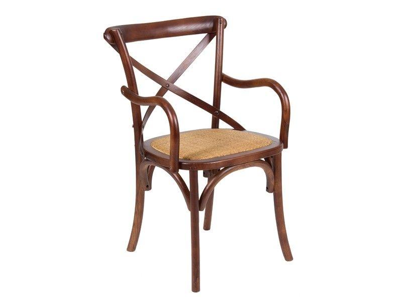 sillas de comedorde madera con reposabrazos