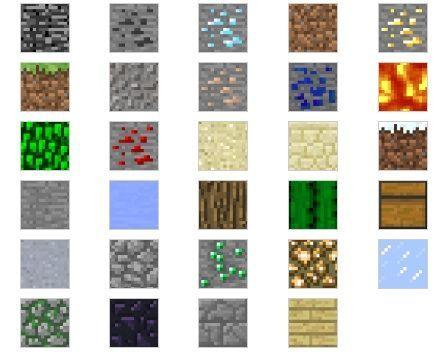 Build 3 D Papercraft Terrains Minecraft Style