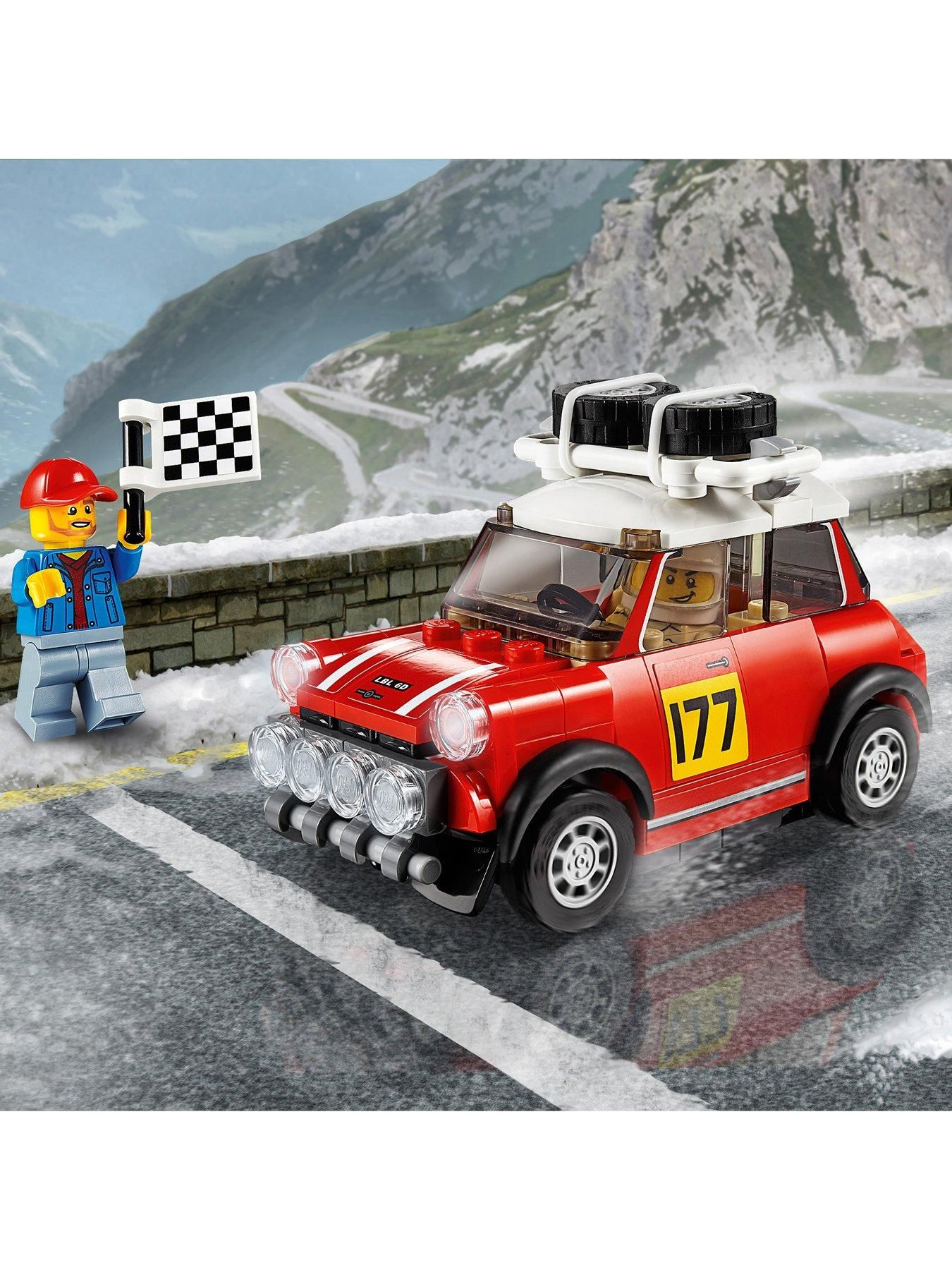 LEGO Speed Champions 1967 Mini Cooper S Rally 2018 John Cooper Works 75894