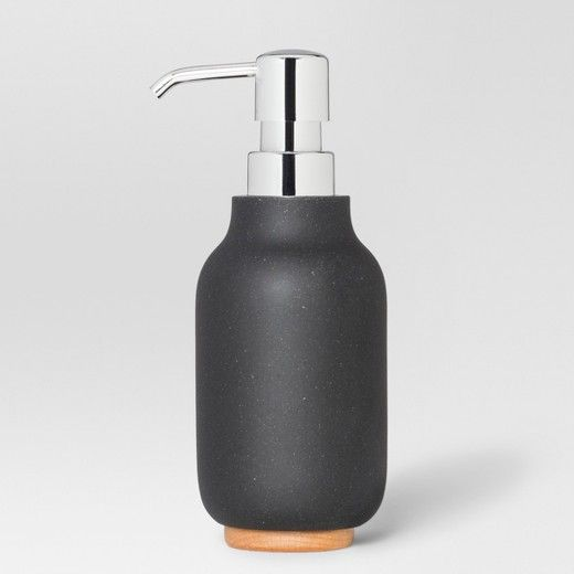 Resin Soap And Lotion Dispenser Black Project 62 Lotion