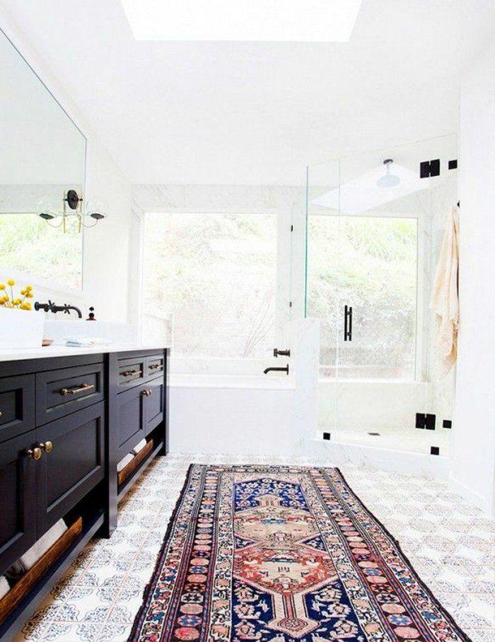 On vous présente le tapis de salle de bain en 45 images! For the - salle de bain meuble noir