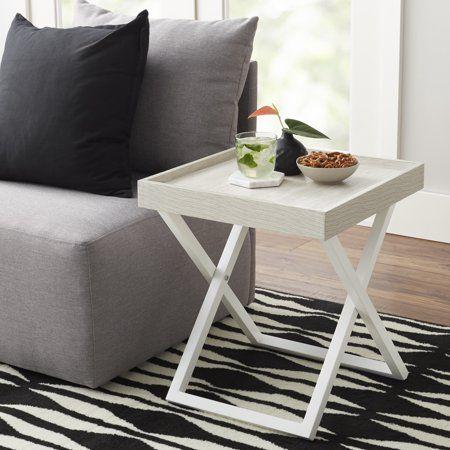 Miraculous Mainstays Conrad Collection Accent Table Multiple Colors Machost Co Dining Chair Design Ideas Machostcouk
