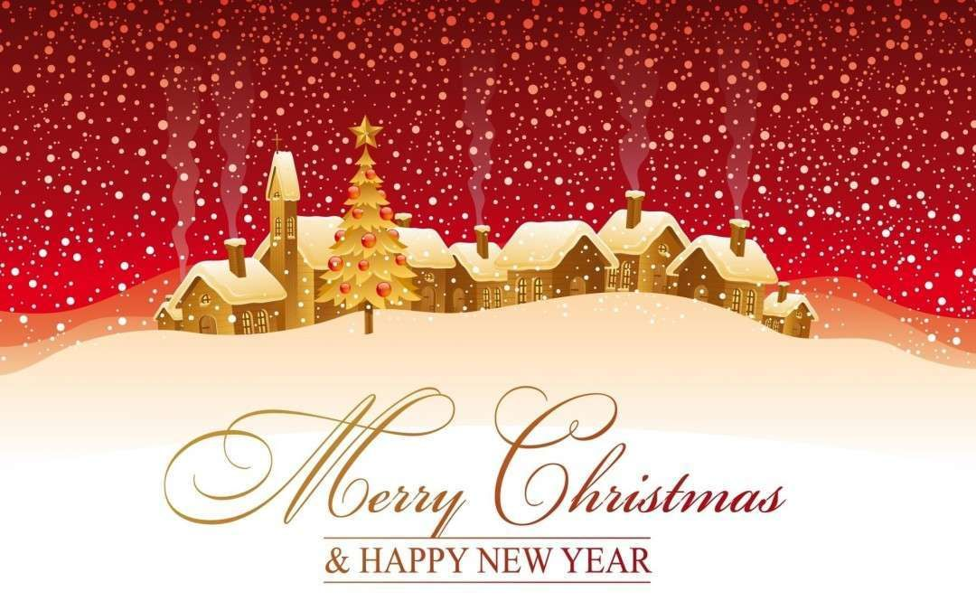 Merry Christmas Happy New Year Wallpaper Hd Download Merry Christmas Card Greetings Merry Christmas Wishes Happy New Year Wallpaper