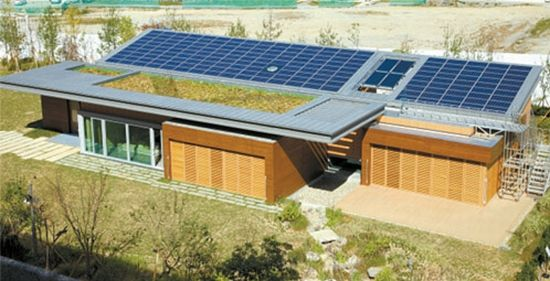 Green Tomorrow New Energy Self Sufficient House By Samsung C T