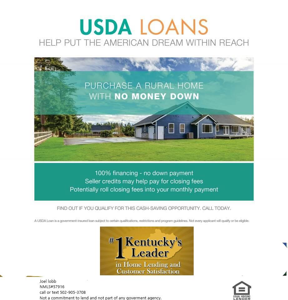 Kentucky Usda Mortgage Lender For Rural Housing Mortgage Loans I Am A Kentucky Based Usda Mort Best Mortgage Rates Today Best Mortgage Lenders Mortgage Loans