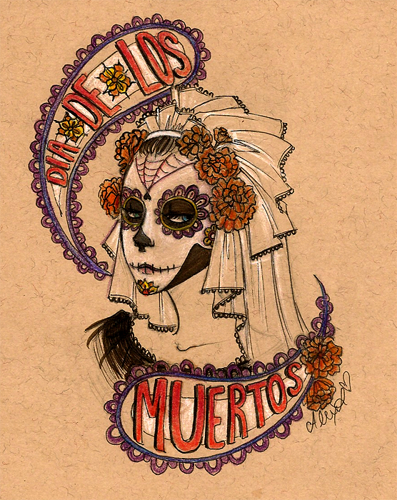 DIA De Los Muertos Art | Dia de los Muertos by crazy-flavored