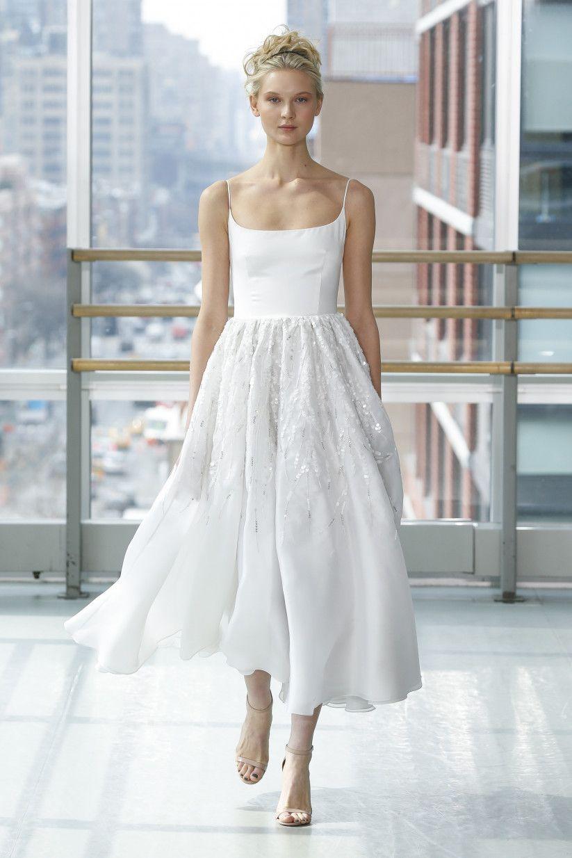 15 Ballerina Wedding Dresses That Are So On Pointe Ballerina Wedding Dress Short Wedding Dress Wedding Dresses [ 1234 x 823 Pixel ]
