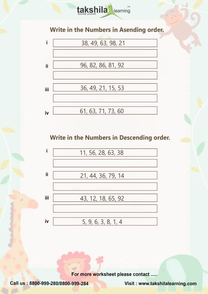 Cbse Ncert Worksheet For Class 1 Maths 1 Grade Worksheets Free Worksheets For Class 1 Class 1 Maths 1st Grade Worksheets