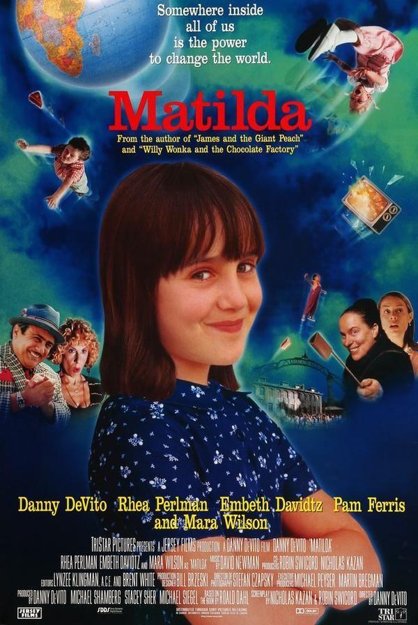 Matilda 1996 Best Kid Movies Matilda Movie Kid Movies