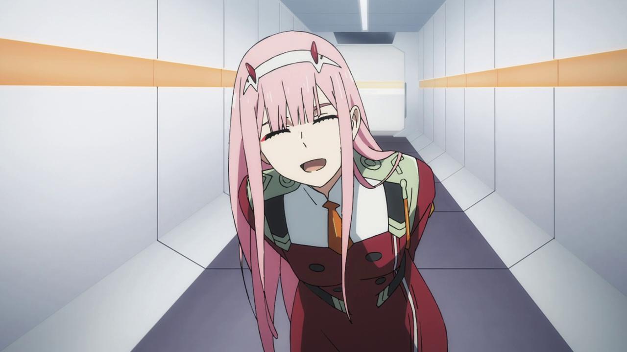 Darling In The Franx 002 Zero Zero Two Lean Anime Gadis Cantik