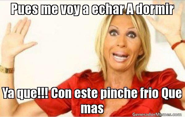 Frioooo Memes De Frio Memes En Espanol Memes De Laura